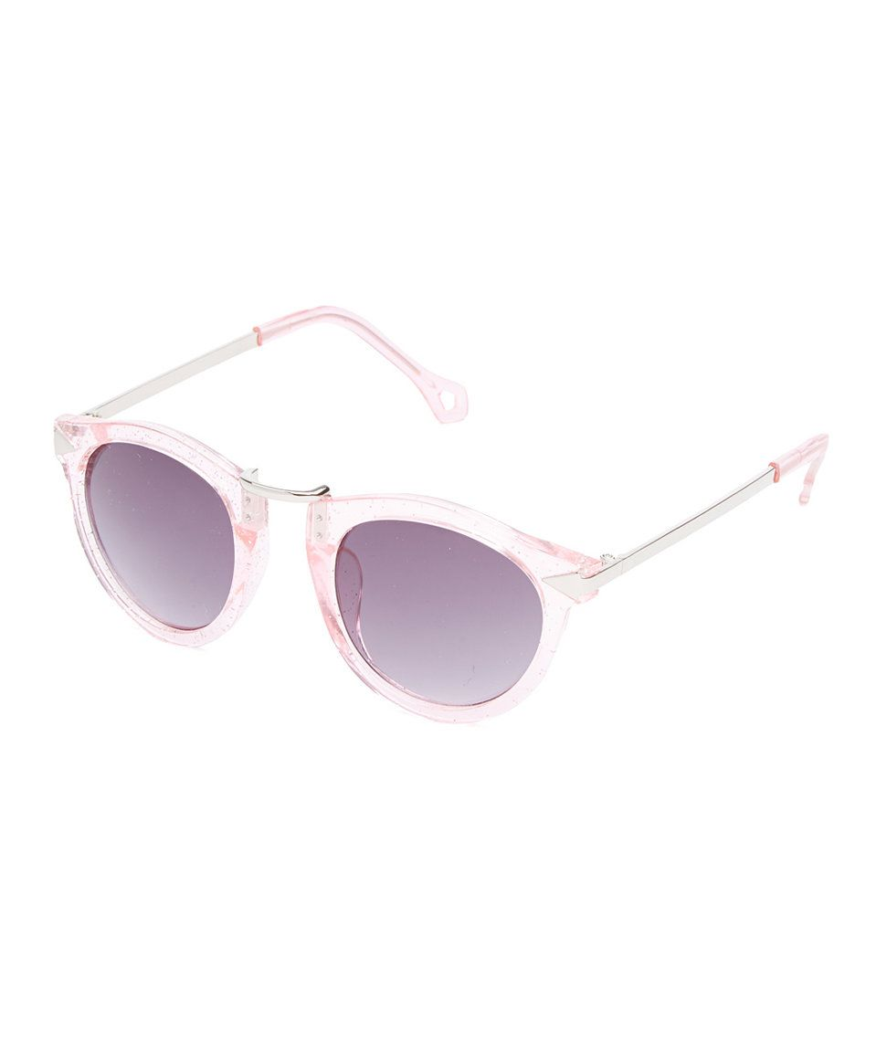 2e36341ee41 Loving this Frills du Jour Pink Round Sunglasses on  zulily!  zulilyfinds