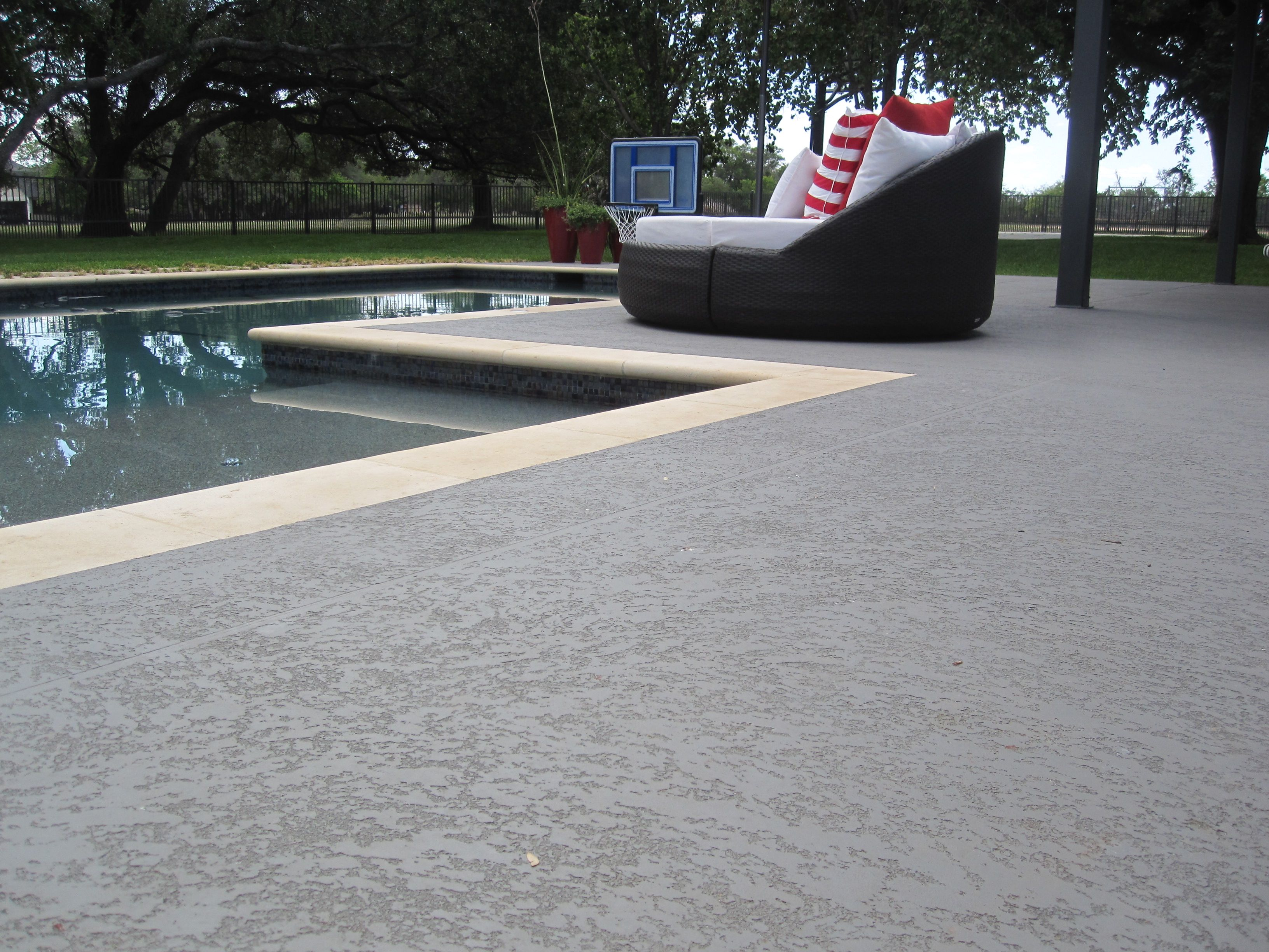 Concrete Pool Deck Finishes Sundek Pool  Google Search  Pool Stuff  Pinterest