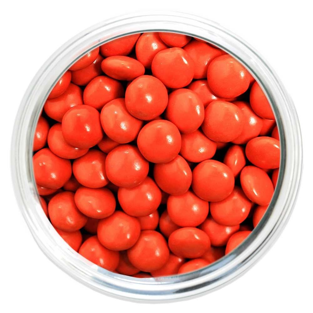 Candy Coated Chocolate Gems - Orange - Halloween Candy - Occasions | Bulk Candy Store