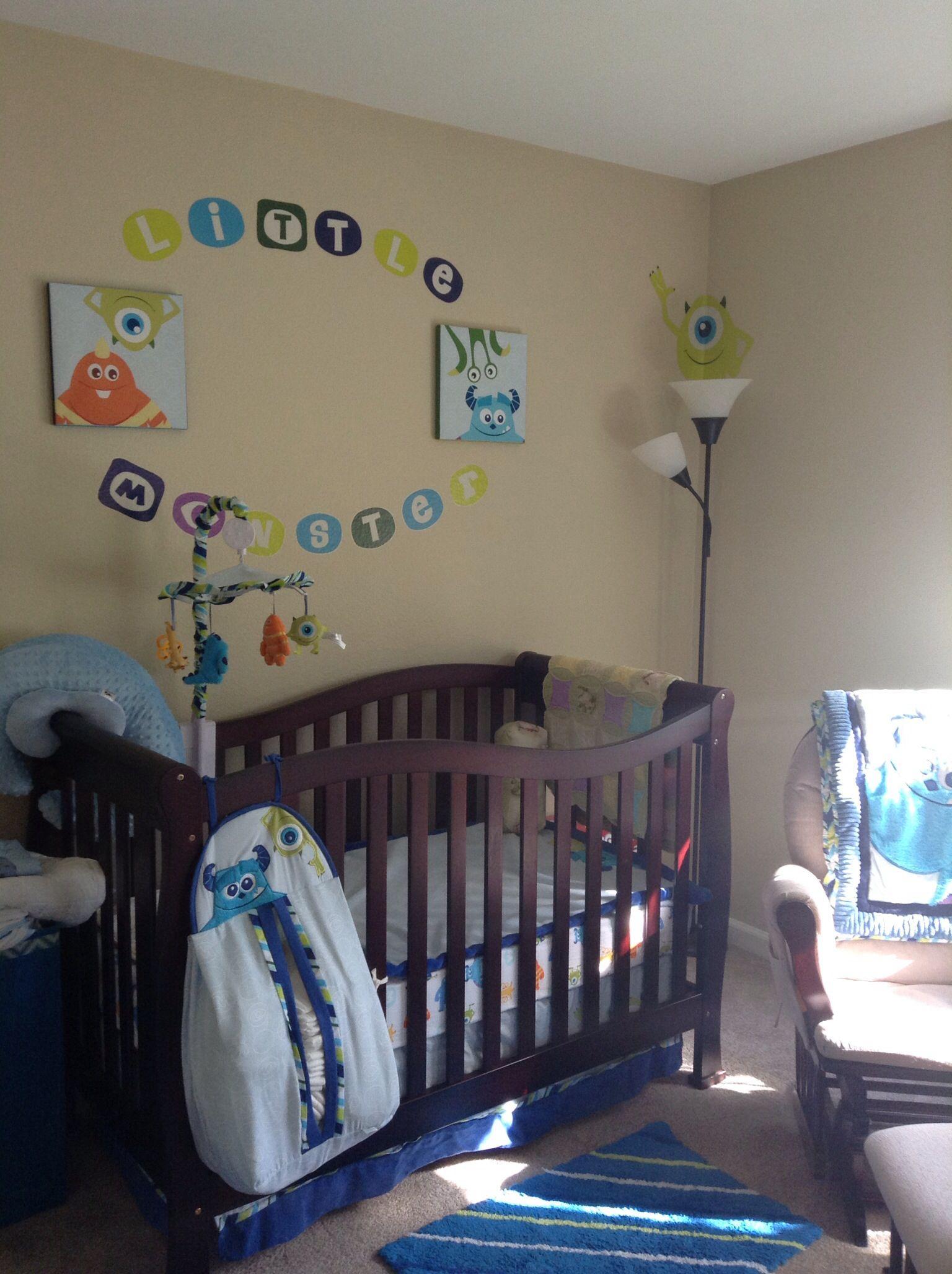 Monster Inc Baby Room