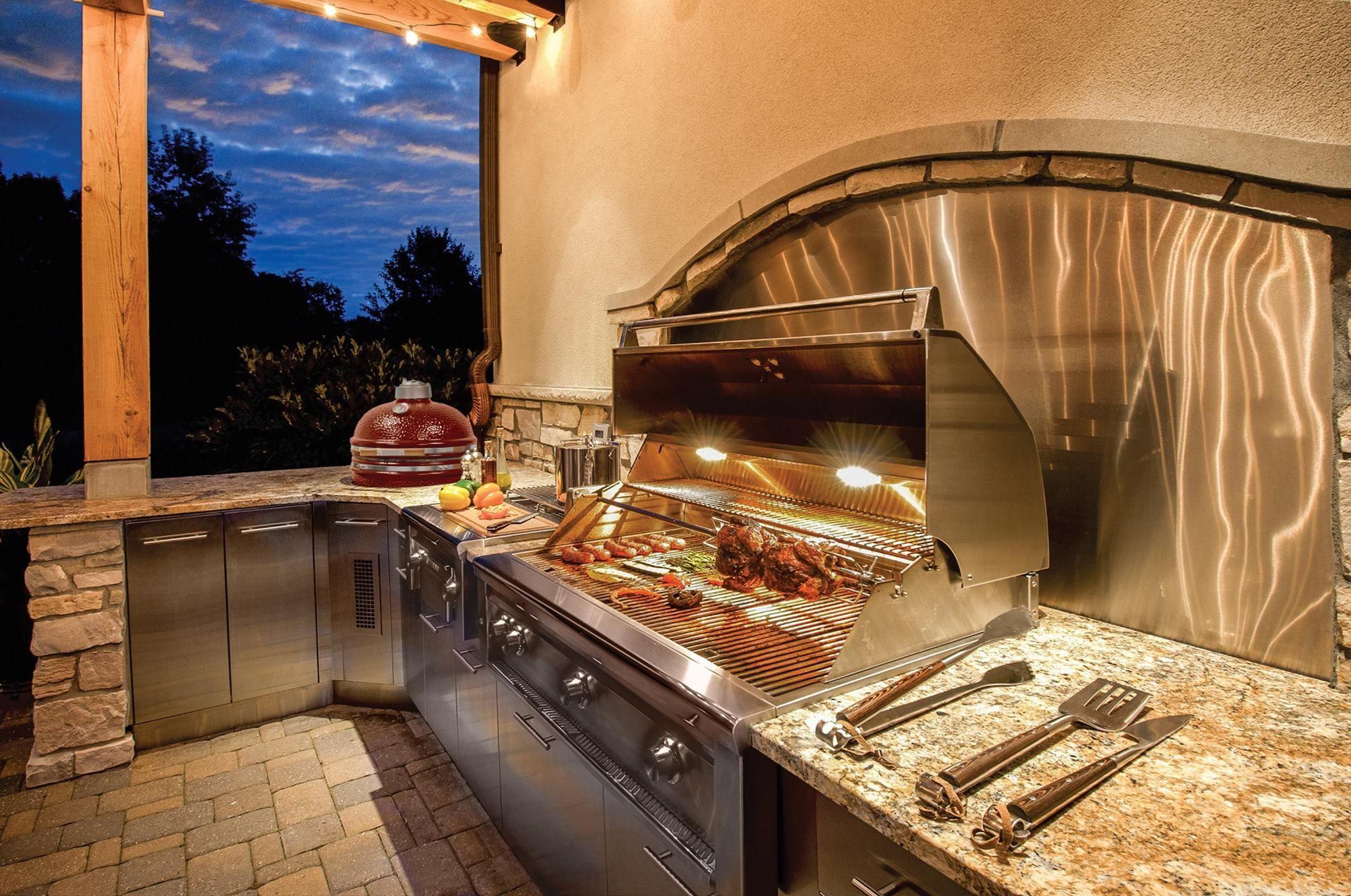 Türen Für Außenküche : Die bbqpit outdoorküche u außenküche bbqpit grillrezepte