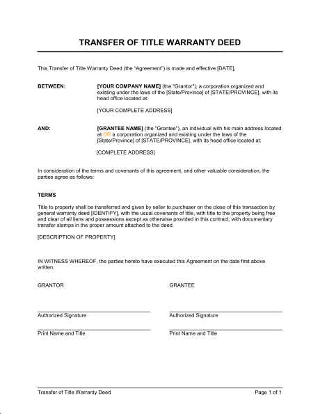 Image Result For Template Of A Title Deed Of Company Contract Template Lease Agreement Business Letter Sample