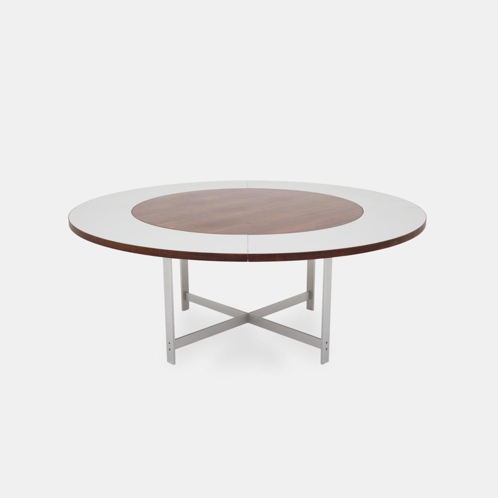 Klassik Studio Jh Table Smoked Oak Extension In Formica Smoked Oak