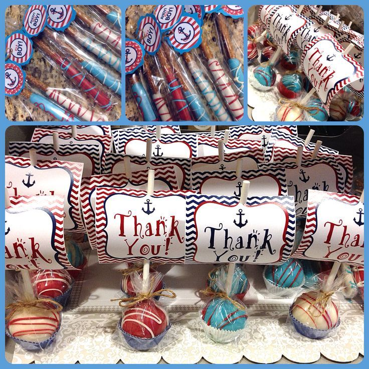 Nautical Theme Baby Shower Decorations   Love The Diaper Baby Poking His  Head Of The Middle