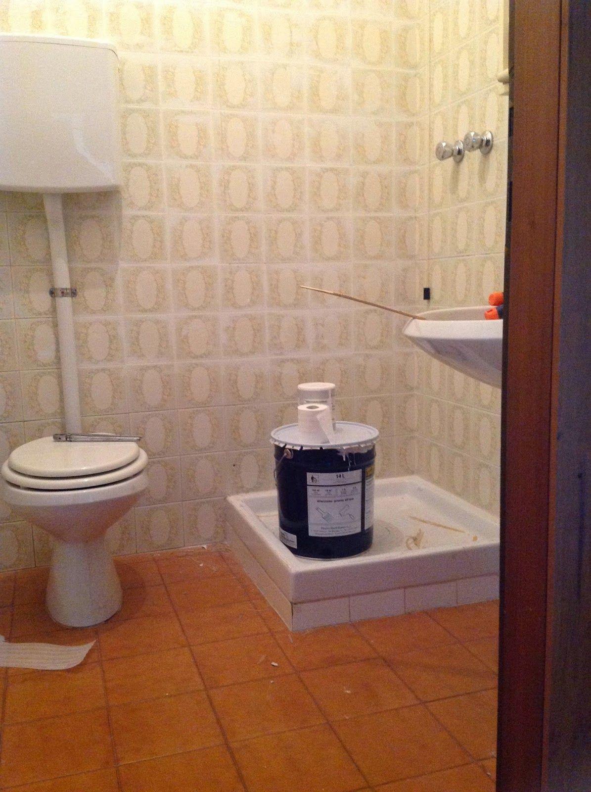 Rinnovare Il Bagno Senza Demolire coprire le piastrelle del bagno | fai da te | arredamento
