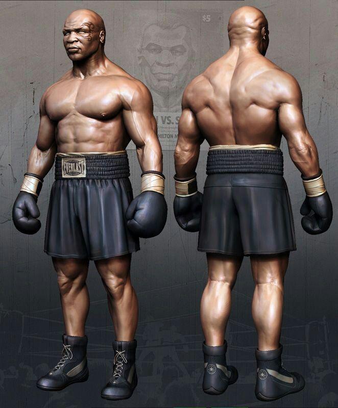 Iron Mike Tyson Mike Tyson Tyson Character Poses