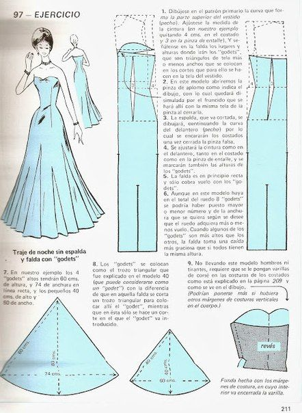 Gown pattern | Sewing Pattern and Draping | Pinterest | Nähanleitung ...