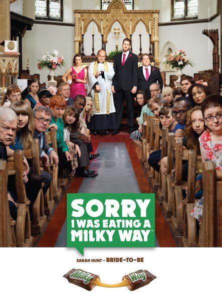 Publicidad Milky Way