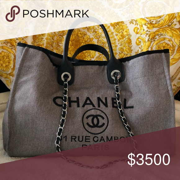 a77b8a3ec Spotted while shopping on Poshmark: Chanel Tote! #poshmark #fashion  #shopping #style #CHANEL #Handbags