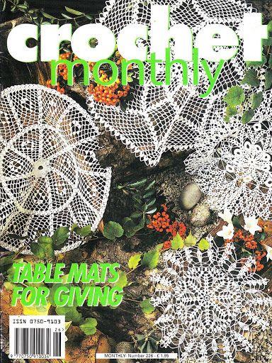 Crochet Monthly 226 Lita Z Picasa Web Albums