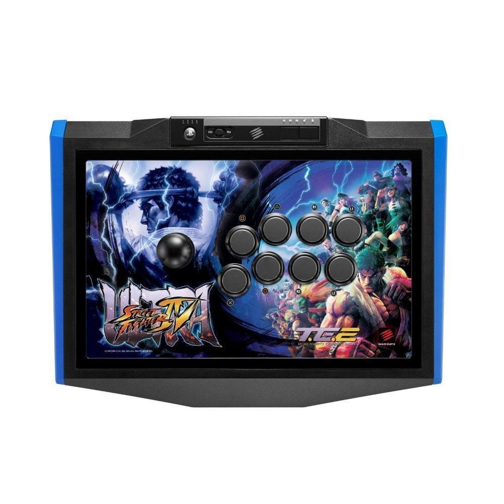 Mad Catz Ultra Street Fighter IV Arcade Fight Stick Tournament Ed TE2 PS3 / PS4 #MadCatz