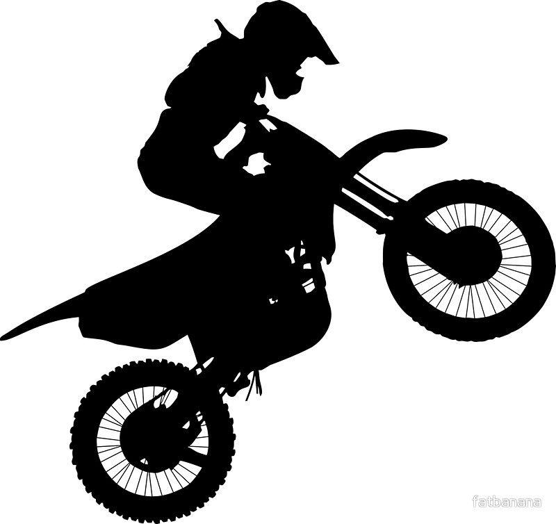 Bikelife Motorbike Wheelie Sticker By Fatbanana Bike Art Bike Silhouette Motorbikes