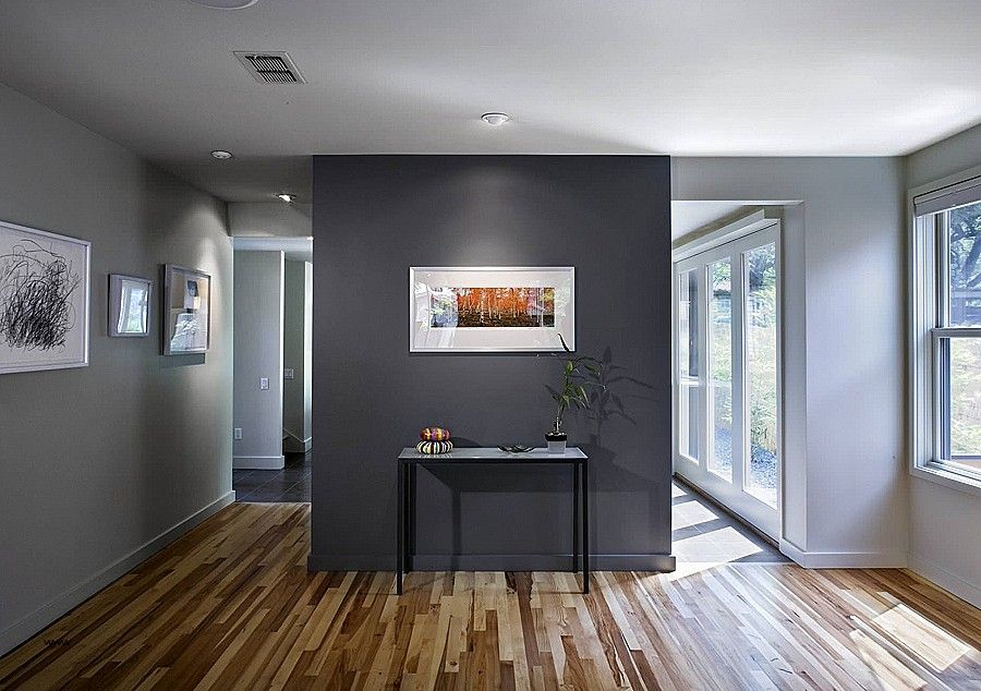 Light Grey Walls White Trim New Dark Gray Accent Wall In A Light Gray Room Colo Grey Accent Wall Living Room Accent Walls In Living Room Grey Walls Living Room