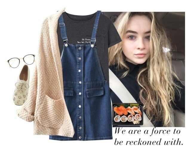 """""""&&; day with sabrina"""" by void-stiles ❤ liked on Polyvore featuring MANGO, WithChic and Frency & Mercury"""