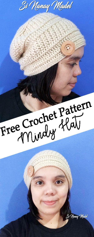 Mindy Hat | Crochet | Pinterest | Manualidades en crochet, Gorros y Amor