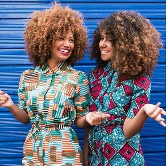 Afro Punk Fashion: African Print Dress Designs