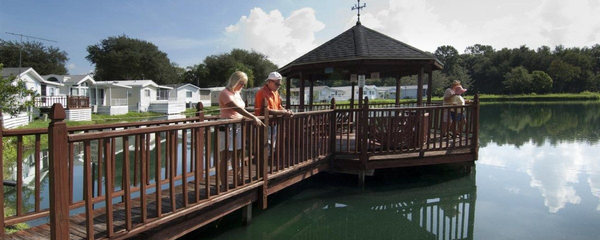 Southern Charm Rv Park And Resort In Zephyrhills Florida