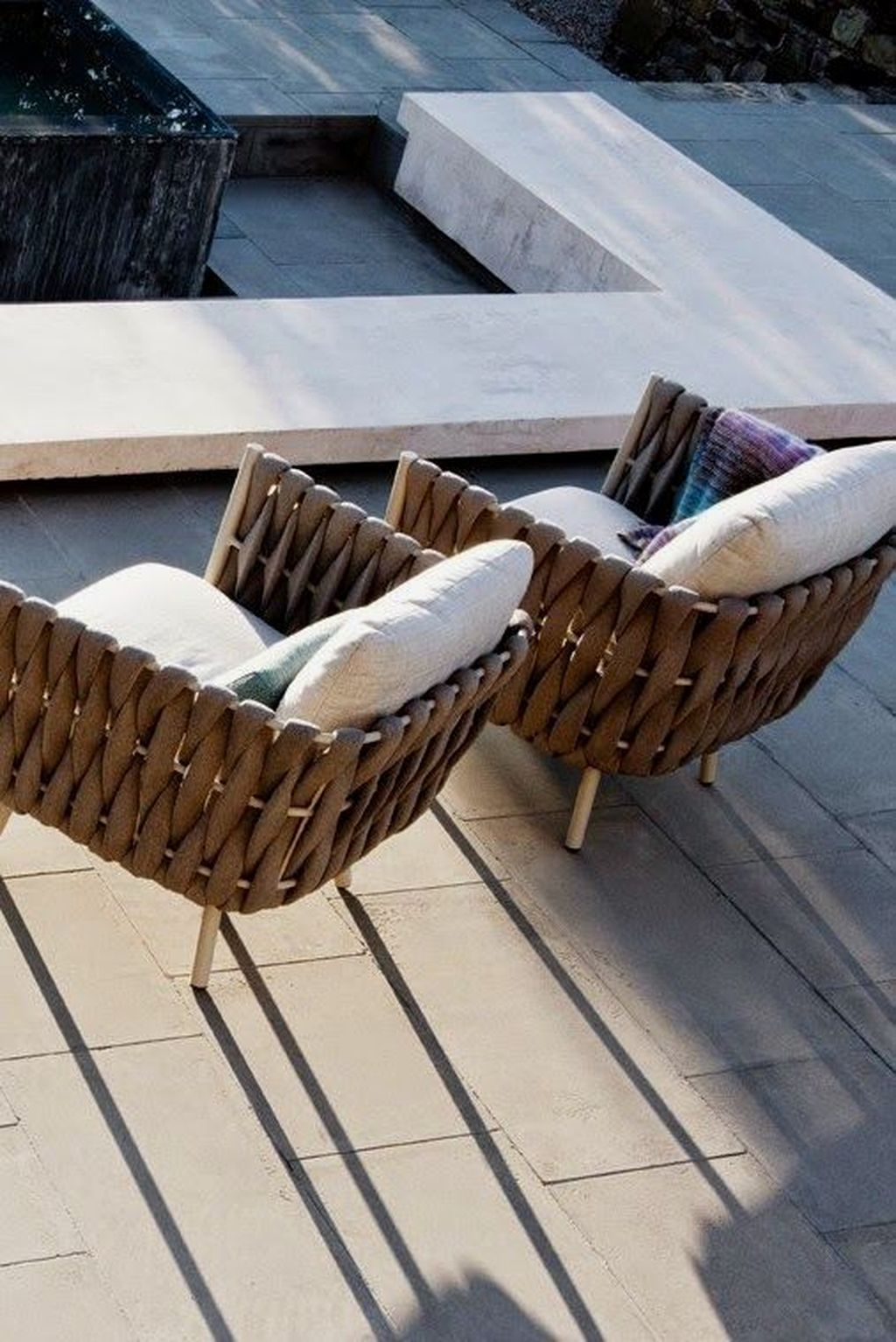 20 Comfy Outdoor Chair Furniture Design Ideas Trenduhome Terrace Furniture Outdoor Furniture Design Modern Outdoor Furniture