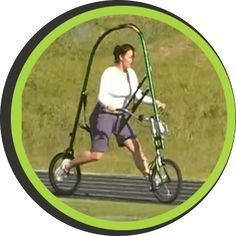 GlideCycle - The ultimate unweighted running bicycle