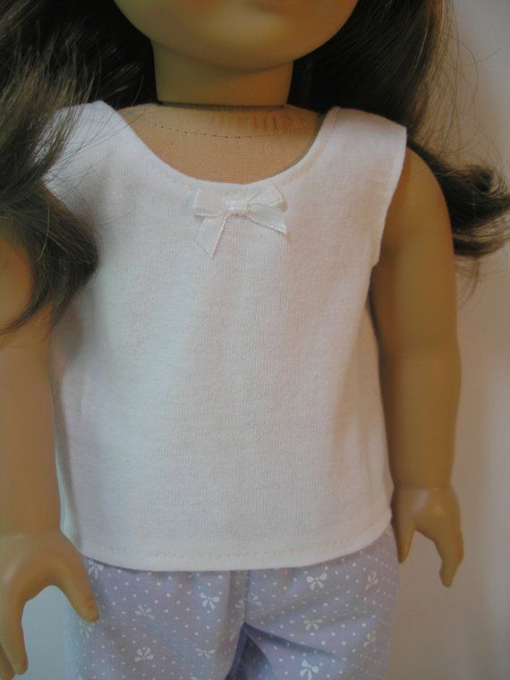 4109 Pajamas for 18 Inch American Girl Doll by terristouch on Etsy