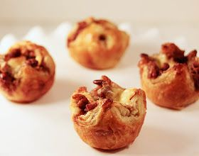 baked in the south: Bourbon Pecan Brie Puffed Pastries