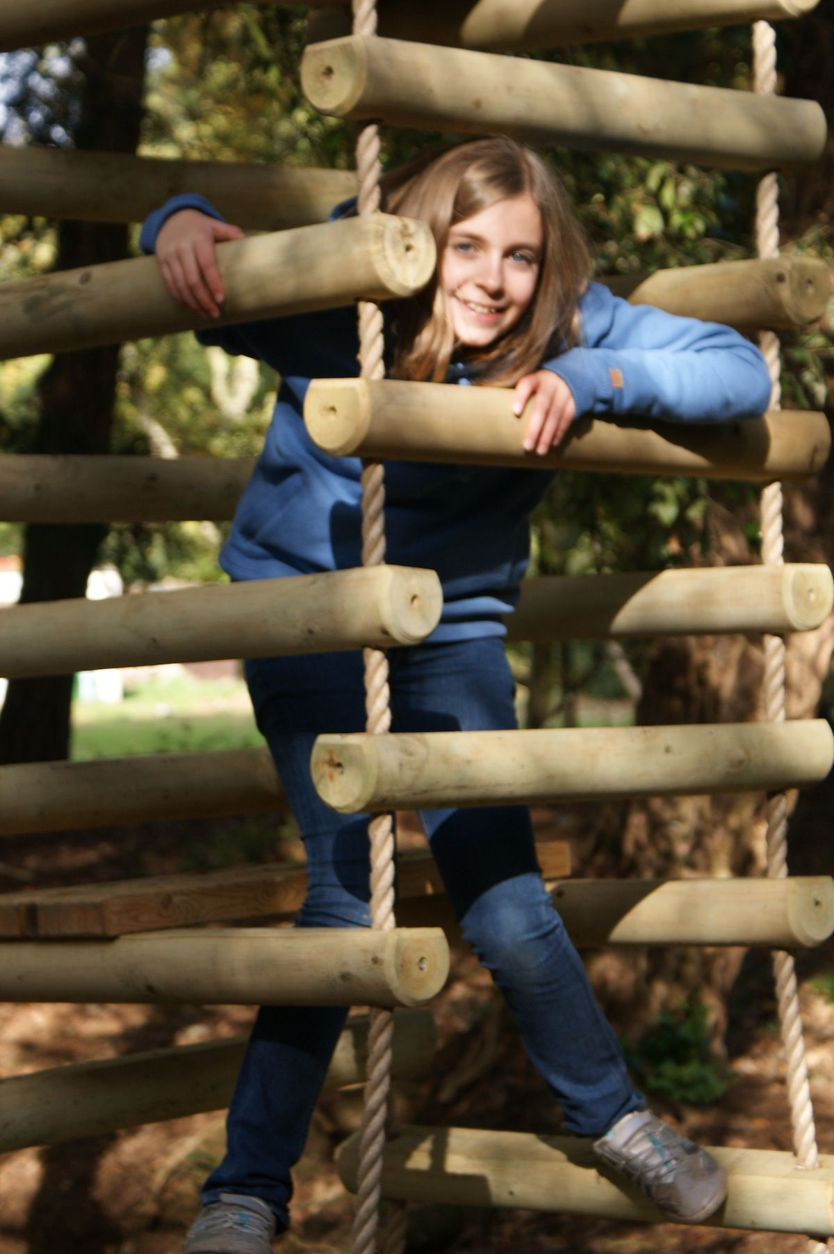 4 sided Rope Ladders for treehouses by Treehouse