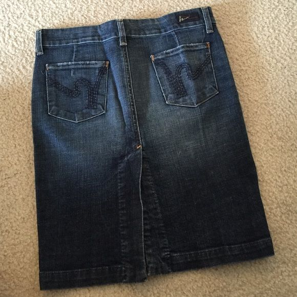 Citizen of humanity Denim pencil skirt never worn. Citizen of humanity. Size 25 Citizens of Humanity Dresses