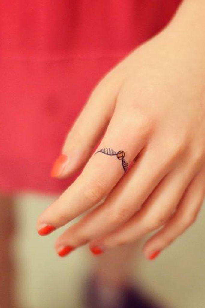 Photo of 12 tatuajes perfectos para los dedos