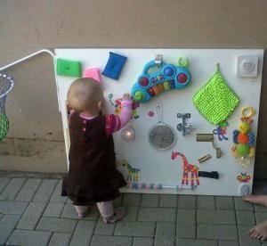 Panel Sensorial Montessori De 0 A 3 Anos Area Sensible