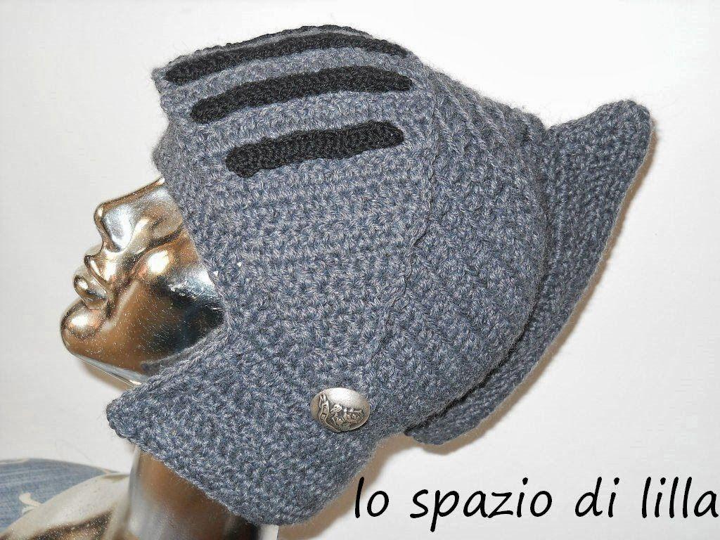 cerca l'originale preordinare comprare on line lo spazio di lilla: Facciamo insieme...Il cappello elmo all ...