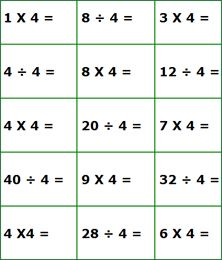 Printables 3rd Grade Math Facts Worksheets division facts worksheet 3rd grade free worksheets for math and on pinterest grade
