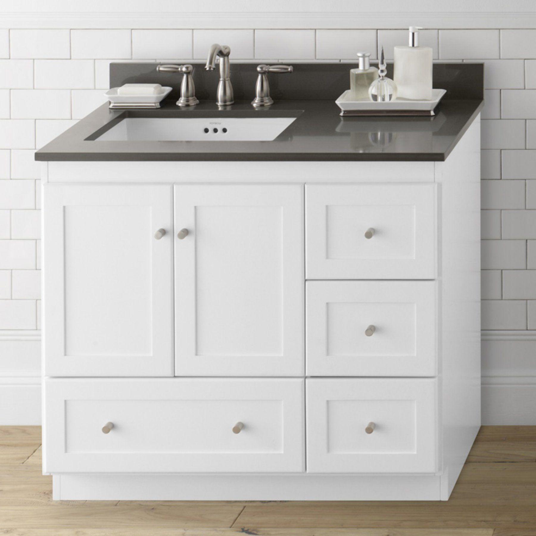 Ronbow 081936 3L Shaker 36 In. Single Bathroom Vanity   RON772