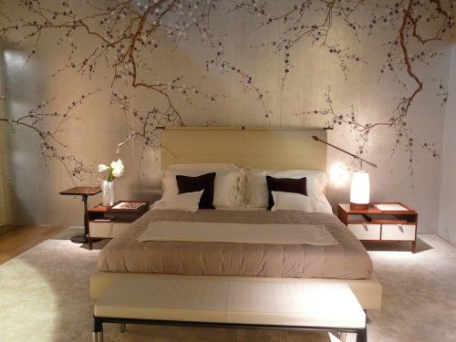 Testaletto carta da parati casa pinterest bedroom decor hand painted walls e home bedroom - Camere da letto giapponesi ...