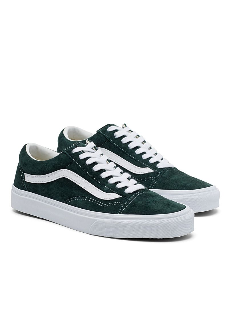 Forest green Old Skool sneakers | Vans | Simons #MaisonSimons ...