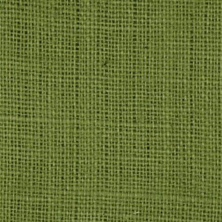 Avocado Burlap Fabric