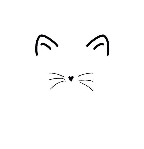 Entdecke Und Teile Die Wunderschonsten Bilder Aus Aller Welt Cat Ears And Whiskers Cat Tattoo Designs Black Cat Tattoos Cat Tattoo