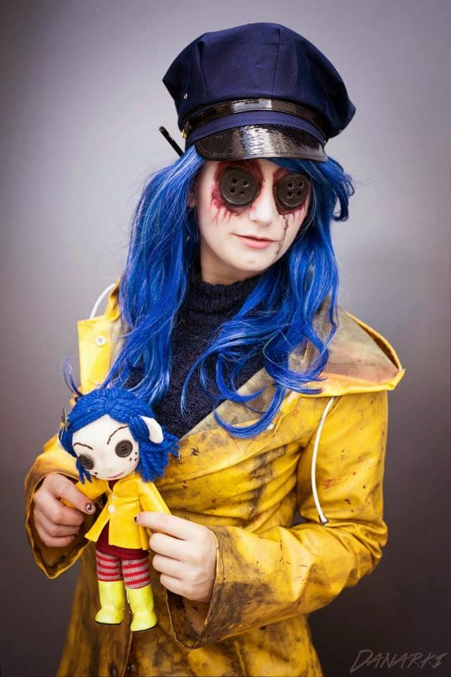 Twisted Coraline Button Eyes Turtorial Coraline Halloween Costume Coraline Costume Coraline
