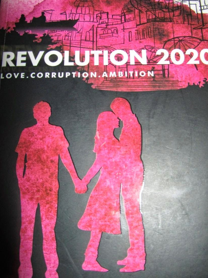 Revolution 2020 Love Corruption Ambition By Chetan Bhagat Book