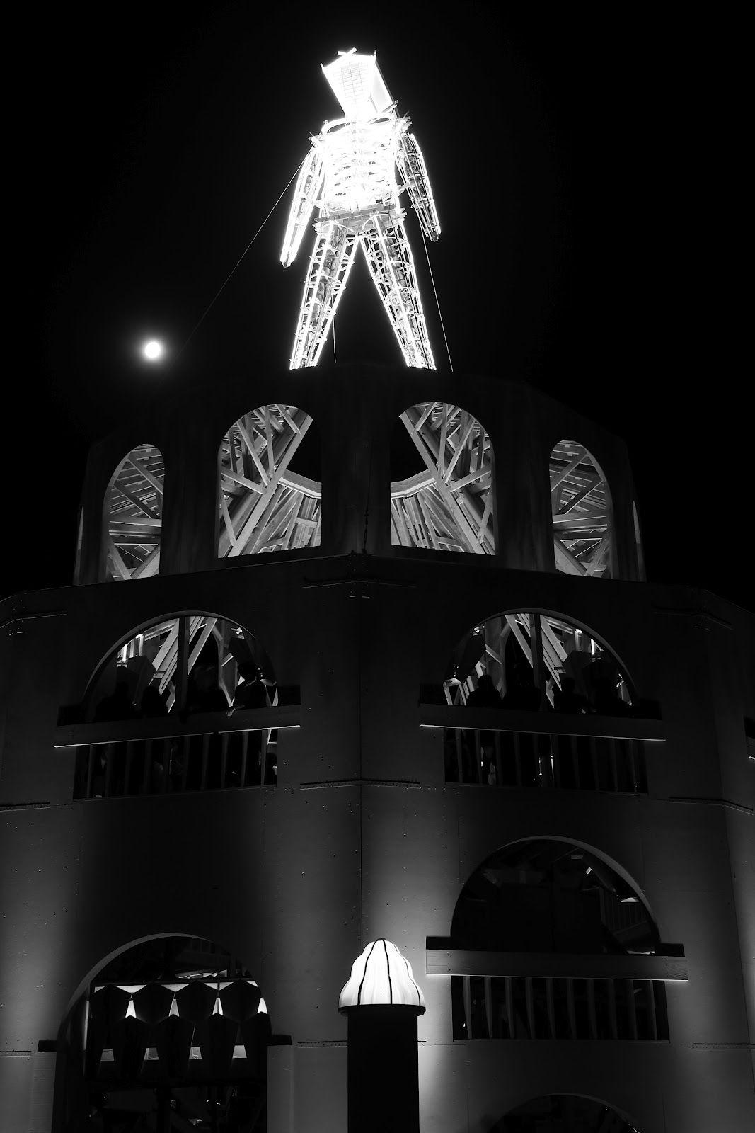 The Man  Scott Williams Photography - Kernville, California: Burning Man 2012 - Fertility 2.0