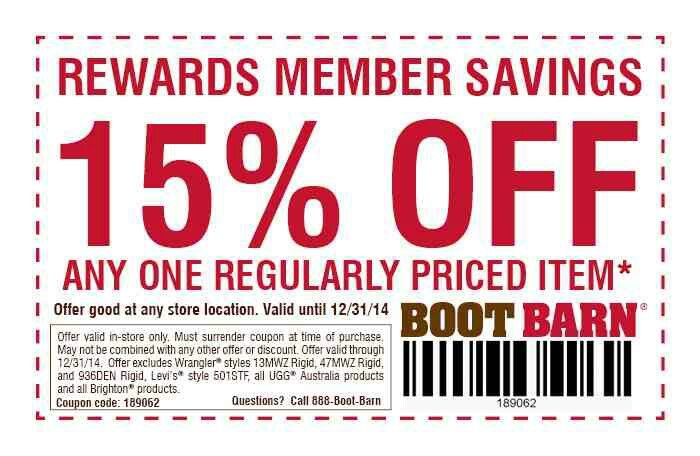 Bootbarn Coupon Dentist Discount Offer