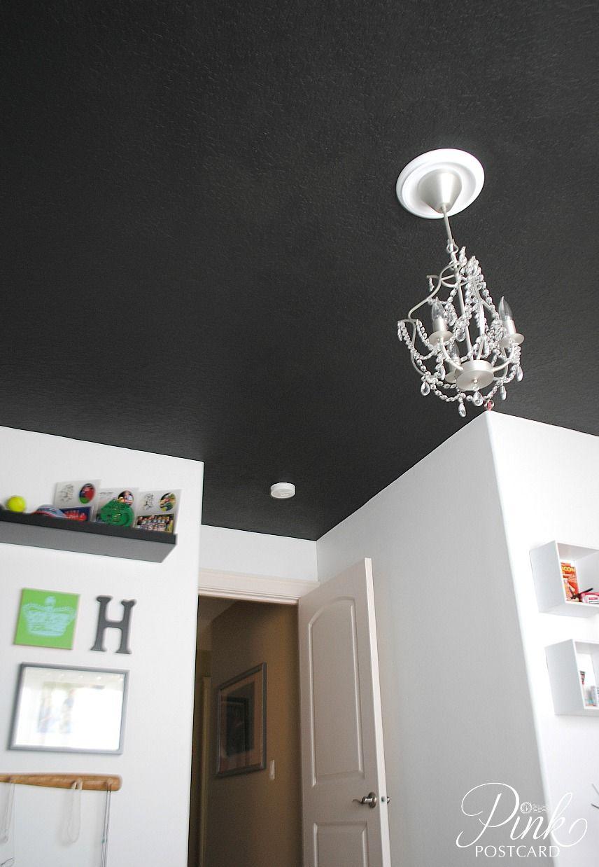 Black Ceiling Paint   Google Search
