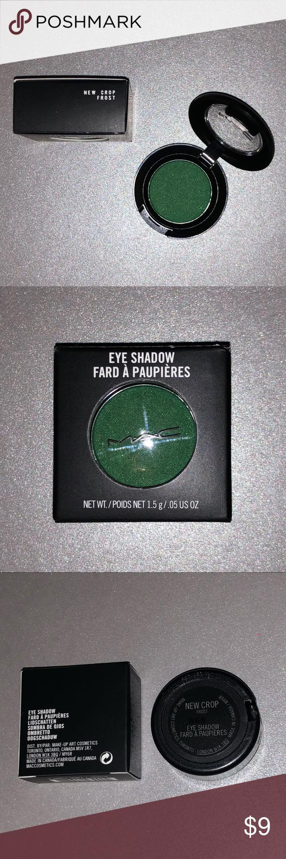 Mac New Crop Eyeshadow Eyeshadow Mac Cosmetics Green Cosmetics