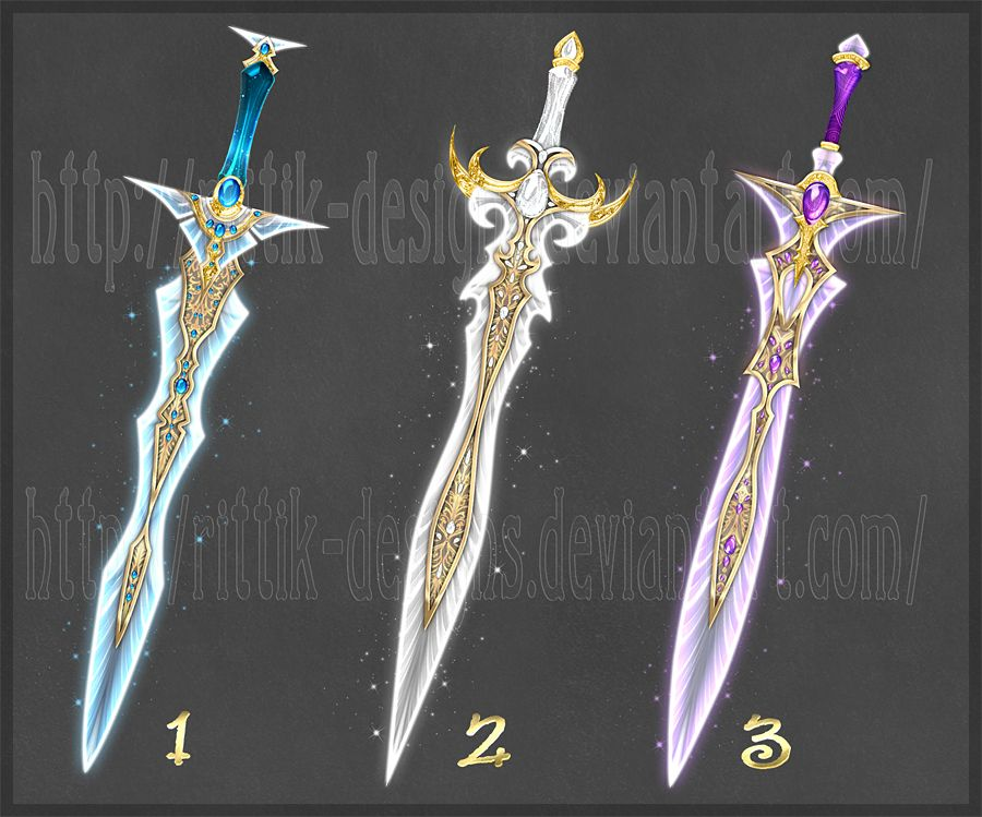 Swords Adopts 9 Closed By Rittik Designs On Deviantart border=