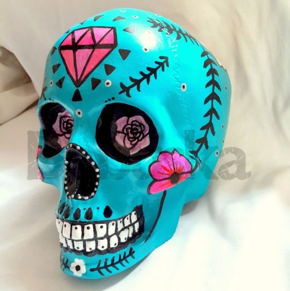 Calavera Mexicana Y Diseños Personalizados Todas Nuestras Piezas