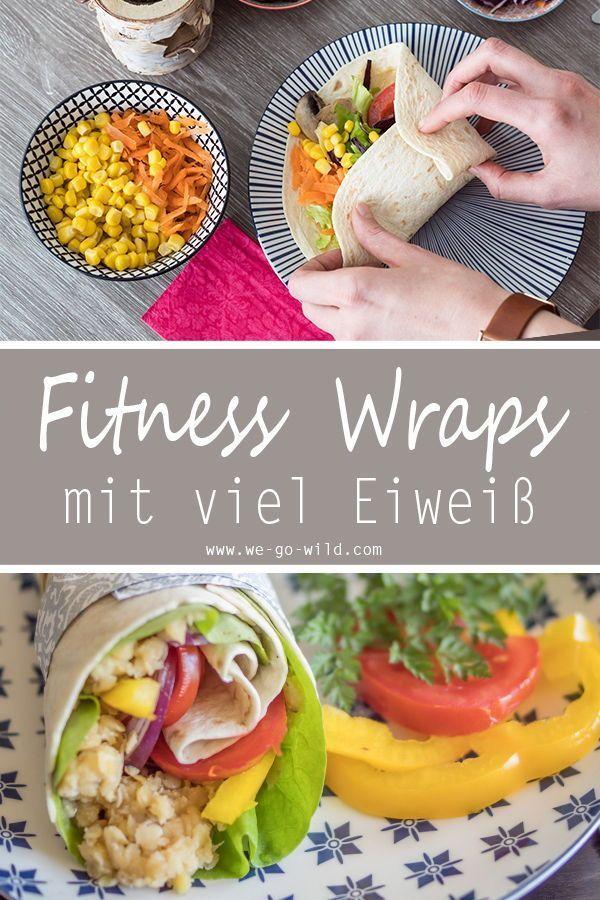 Wraps mit Tofu und Avocado - Hunger nach mehr Fitness Rezepten? Klick hier! Unsere Fitness Wraps s