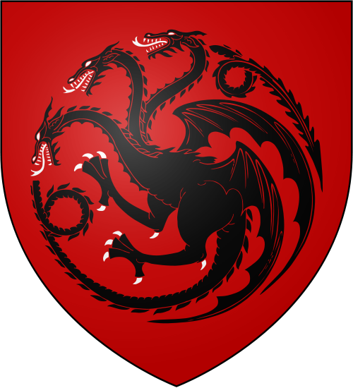 House Blackfyre.svg Valyrian, House targaryen, Targaryen