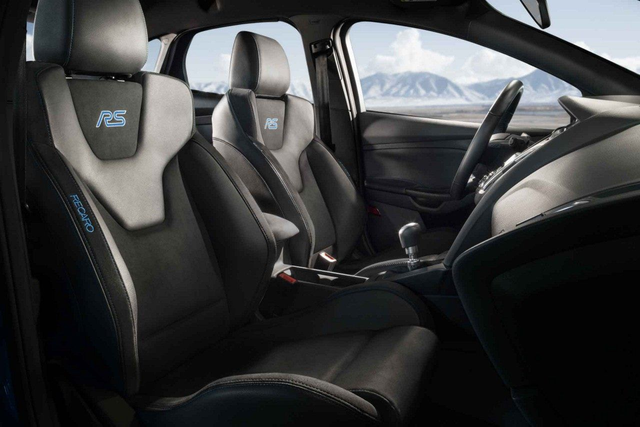 The 2018 Limited Edition Focus Rs With Recaro Sport Seats Featuring Unique Rs Badging Ford Focus Ford Focus Rs New Ford Focus