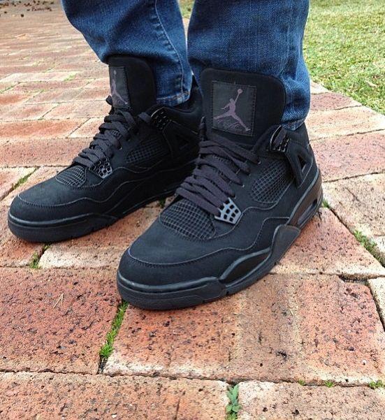 Air Jordan 4 (gs) Black Cat