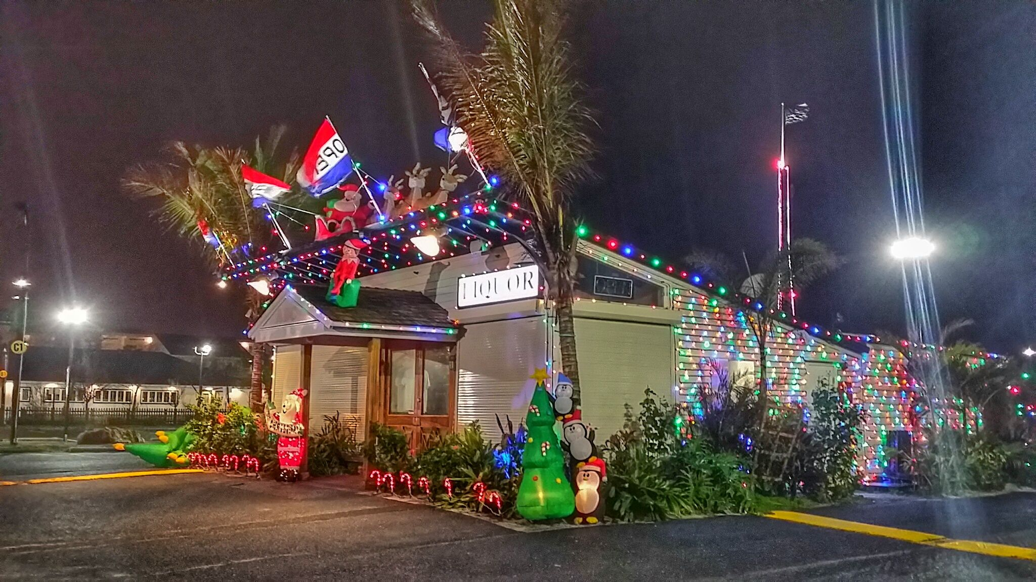 The Seacrets liquor store in Ocean City is ready for the holidays ...