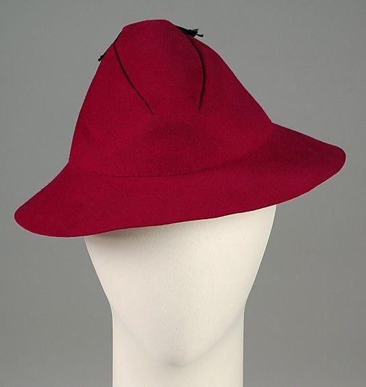 Hat House of Schiaparelli (French 009df2eb006